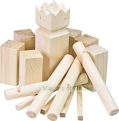 Kubb - In Wooden Crate