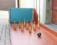 Leisure Portable Skittle Alley - without ball return gully