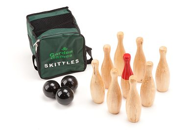 Skittles Pack - with Balls, Rules and Canvas Bag