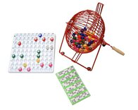 Standard Bingo Cage Set - includes balls, tray & tickets