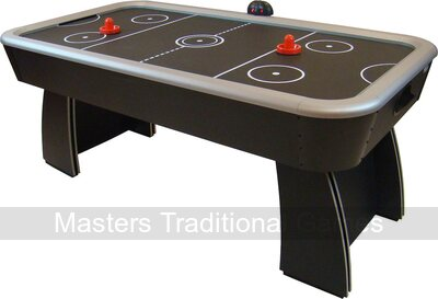 Gamesson Spectrum 6ft Air Hockey Table - Black