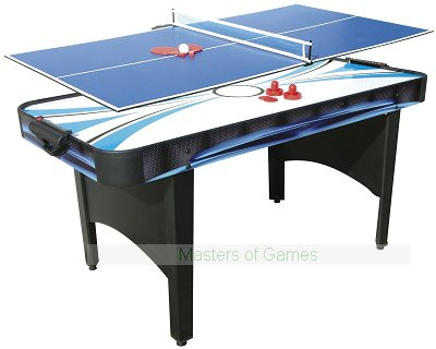 Typhoon 2-in-1 Air Hockey / Table Tennis Table