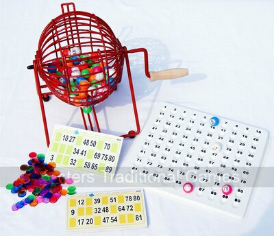 Home Bingo Set (90 balls)