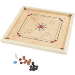 Regulation Size, Entry-Level Carrom Set by Big Game Hunters