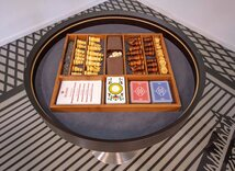 Dal Negro Gorgone Games Table - Chess, Backgammon, Draughts & Cards