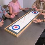 GoSports Shuffleboard & Curling 2-in-1 Table Game