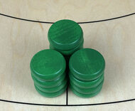Tracey Green Crokinole Buttons (set of 13)