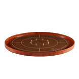 Masters Crokinole Tournament Board - Walnut & Cherry (incl hanging kit)