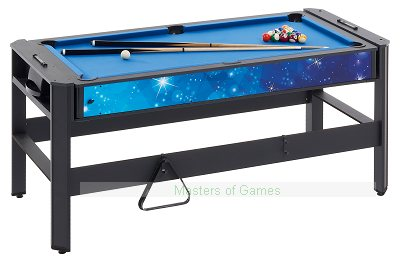 Mightymast 6ft Pentagon 5-in-1 Multigames Table