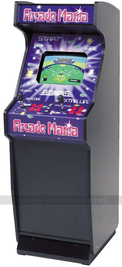 Mightymast Arcade Mania Upright - over 150 classic arcade games