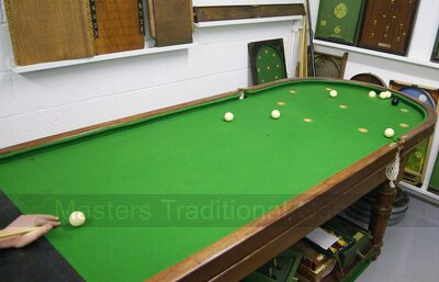Cloth for Old English Bagatelle / Folding Bagatelle Tables