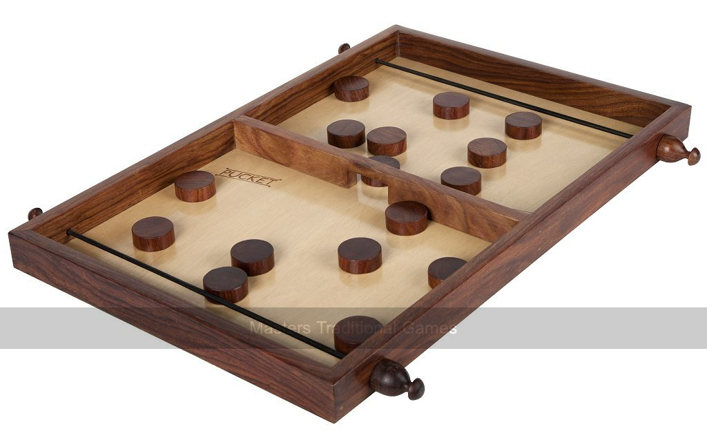 Pucket Tabletop Game Disk Flicking Fun For Everyone