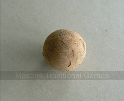 Set of 4 cork balls for Puff Billiards (Billard Nicolas)