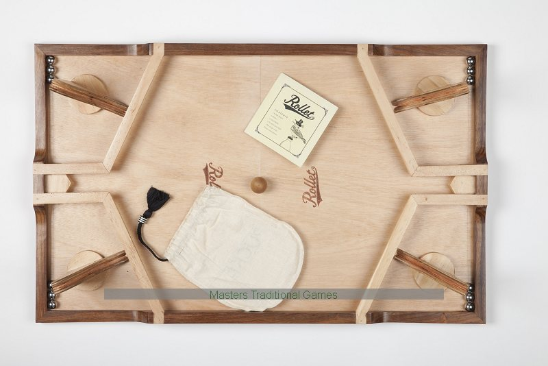 Rollet The Fast Rolling Ricochet Game Gorgeous Rollet Wooden Game