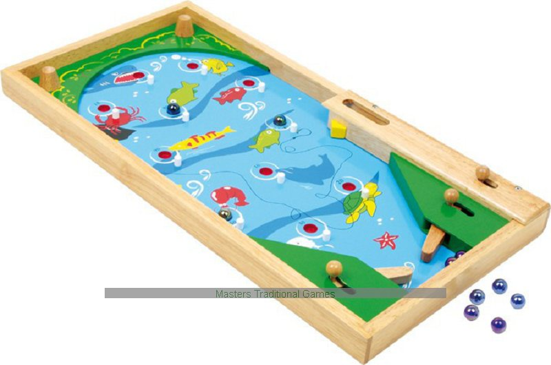 Wooden Pinball Games Table Top