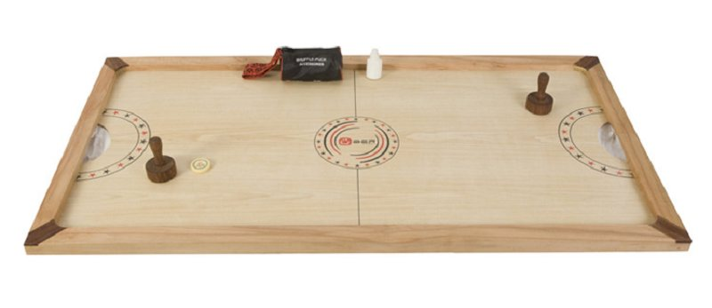 Shuffle Puck Wooden Air Hockey Game