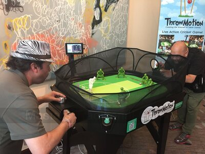 ThrowMotion Cricket Table Game (cost includes delivery/installation to Greater London only)