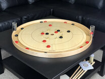 Tracey Traditional Crokinole Board (with 26 disks)
