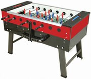 FAS San Siro Football Table - Coin-Op, Red/Black