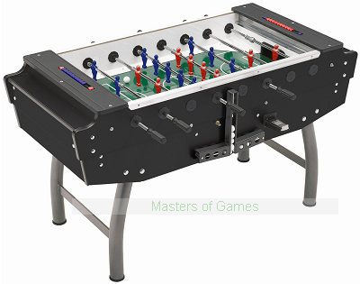 FAS Striker Football Table (Black, Coin-op)