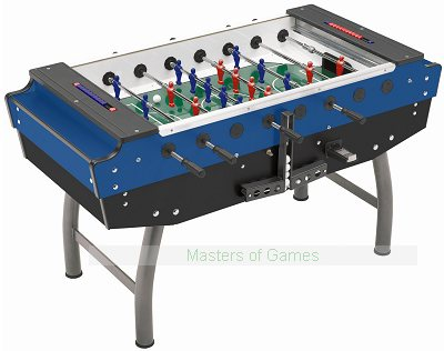 FAS Striker Football Table (Blue/Black, Coin-op)