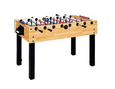 Garlando G100 Football Table (Beech) - (Height Adjustable)