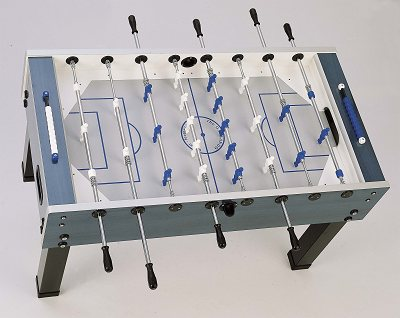 Garlando G500 Weatherproof Football Table - Blue