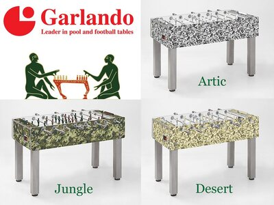 Garlando G500 Design & Style Range Football Table