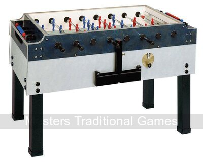 Garlando Outdoor Olympic Football Table (Glass top, Coin-op)
