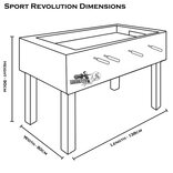 Roberto Sport Sport Revolution Football Table