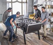 Stella Babyfoot Champion Collector Football Table - Black