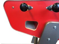 Stella Babyfoot Pro Football Table - Red
