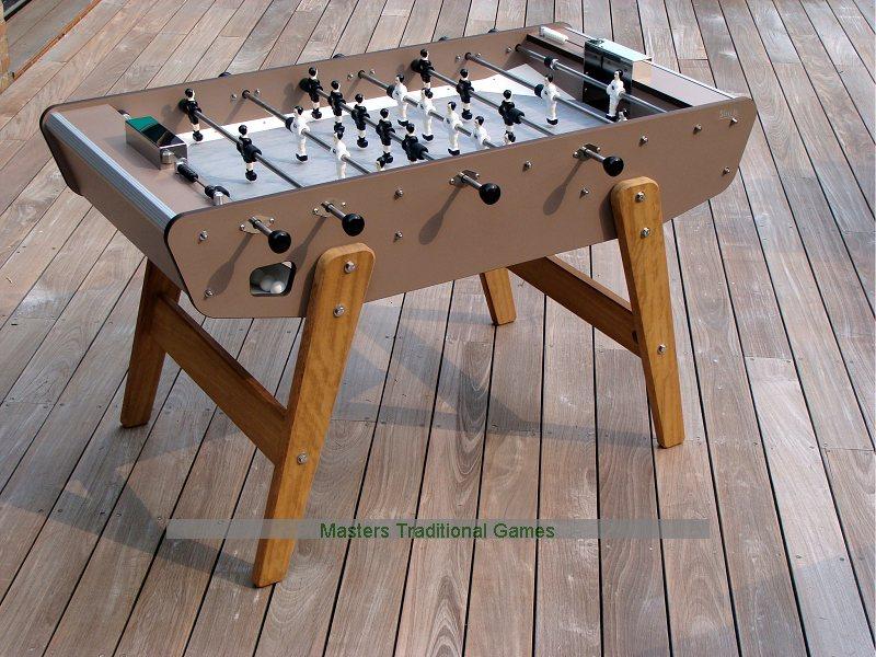 Babyfoot Stella Pro Outdoor Table Football Grey