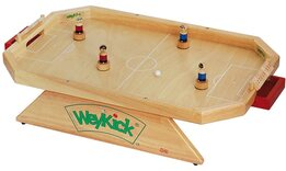 WeyKick Stadion Football / Soccer Game (natural wood surface)