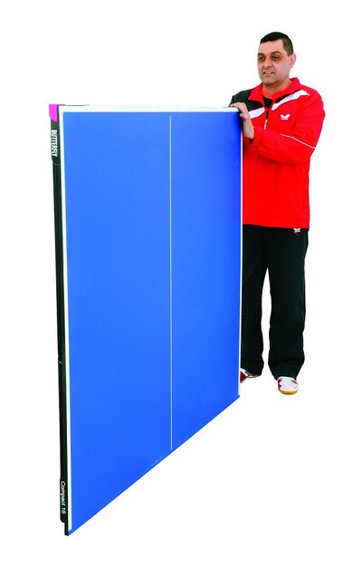 Butterfly Compact 16 Table Tennis Table - Blue