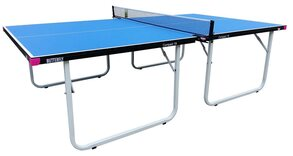 Butterfly Compact 19 Wheelway Table Tennis Table - Blue