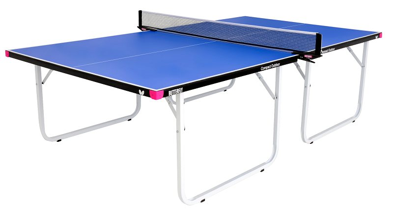 Butterfly compact outdoor 10 wheelaway table tennis table - Outdoor table tennis table nz ...