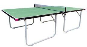 Butterfly Compact Outdoor 10 Wheelaway Table Tennis Table Green