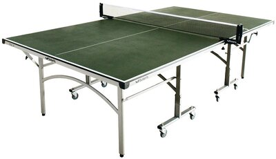 Butterfly Easifold 12 Outdoor Rollaway Table Tennis Table - Green