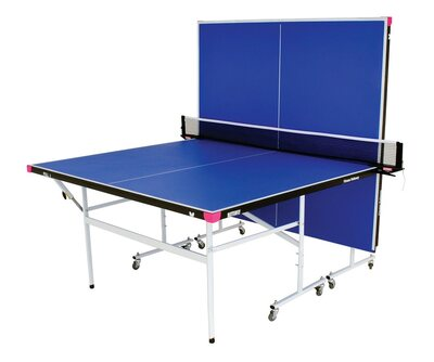 Butterfly Fitness Rollaway Table Tennis Table - Blue