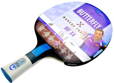 Butterfly Marcos Freitas MF X4 Table Tennis Bat