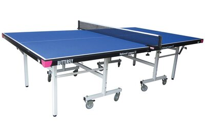 Butterfly National League 22 Rollaway Table Tennis Table - Blue