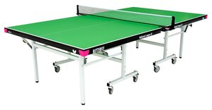 Butterfly National League 22 Rollaway Table Tennis Table - Green