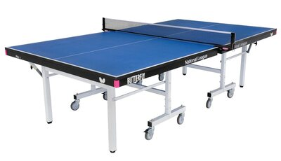 Butterfly National League 25 Table Tennis Table - Blue