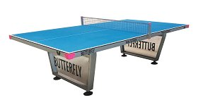 Butterfly Park Outdoor Table Tennis Table
