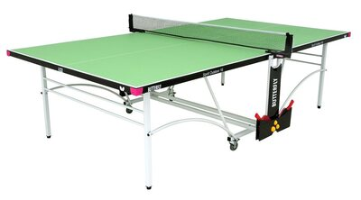 Butterfly Spirit 10 Outdoor Rollaway Table Tennis Table - Green