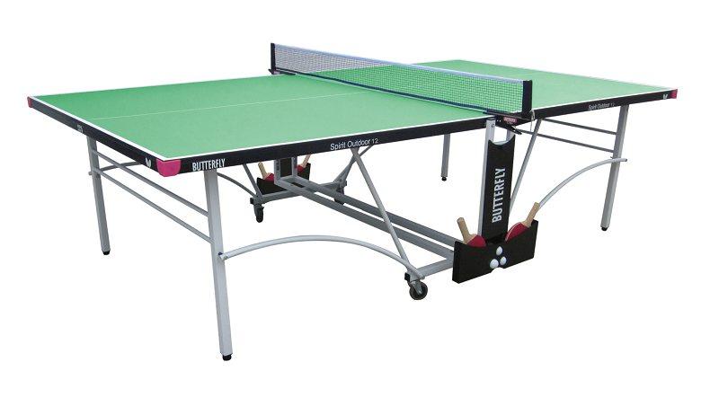 Butterfly spirit 12 outdoor rollaway table tennis table - Outdoor table tennis table nz ...