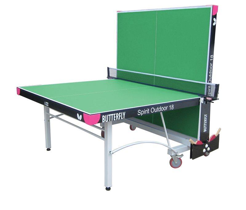 Butterfly spirit 18 outdoor rollaway table tennis table - Weatherproof table tennis table ...
