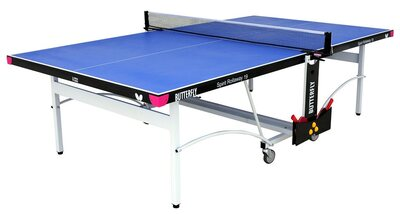 Butterfly Spirit 19 Rollaway Table Tennis Table - Blue