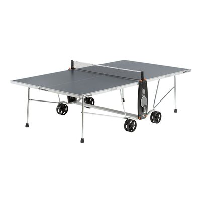 Cornilleau Sport 100S Crossover Outdoor Table Tennis Table - Grey